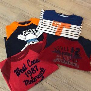 Other - Boys Raglan Style Long Sleeve Shirts